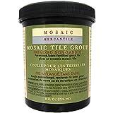 Mosaic Mercantile Premix Grout, 8-Ounce, Black