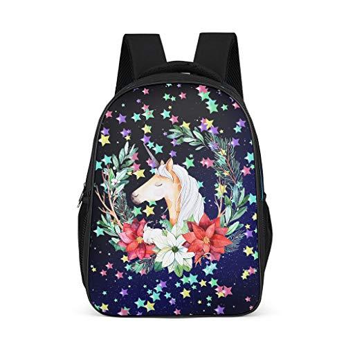 XJJ8 meisjes slingers eenhoorns rugzak schattig waterfles zakken schooltas - cartoon afdrukken glanzend boekentas sport gebruik voor kleuters onesize Grijs