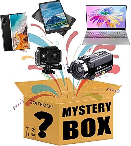 Súper misterio caja electrónica banquera sorpresa paquete de regalo paquete sorpresa Caja sorpresa incluyendo tabletas teléfonos móviles grabadores de video cámaras móviles laptops sorpresa cajas, tod