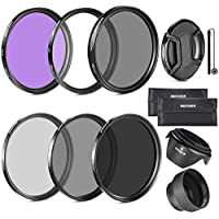 Neewer 67MM Lens Filter Kit - Kit de filtro de lente, compatible con lentes de 67MM