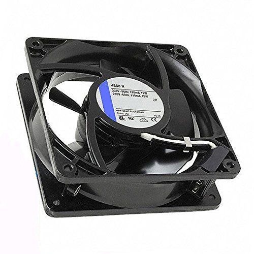 4658N 120MM 12012038MM AC 230V 19w/18w all metal inverter server industrial fan (4658N)