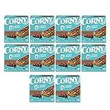 Corny Barritas 0% de Chocolate con leche, 10 estuches con 6 barritas 10x (6 x 20 g)