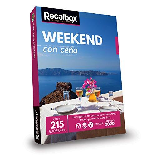 Regalbox - Weekend con cena 2018 - Cofanetto regalo