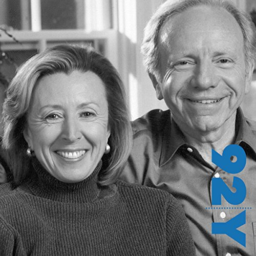Joe and Hadassah Lieberman on 'An Amazing Adventure' at the 92nd Street Y audiobook cover art