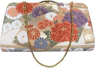 Clutches aus OBI Stoff (Kimono-Gürtel).