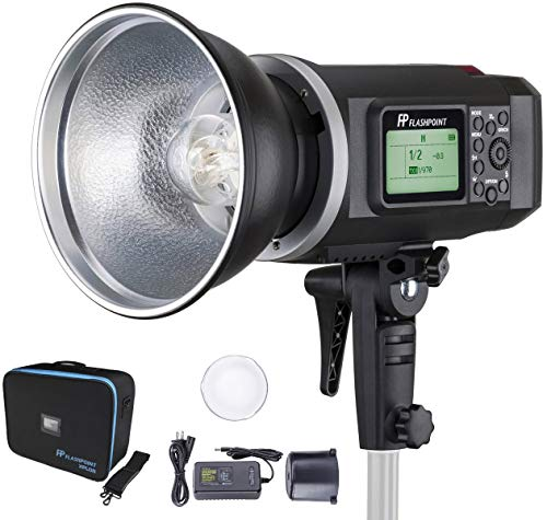 Flashpoint XPLOR 600 HSS Battery-Powered Monolight with Built-in R2 2.4GHz Radio...