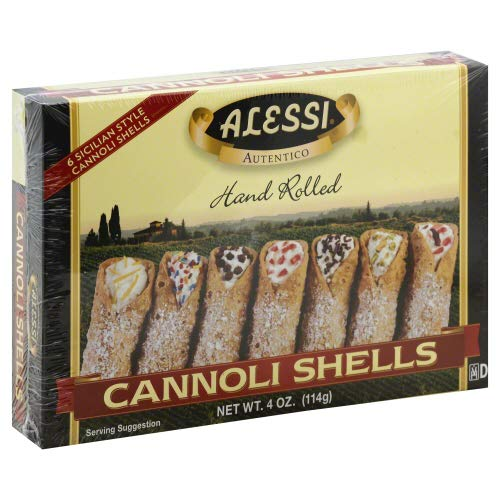 New Orleans High material Mall Cannoli Shells