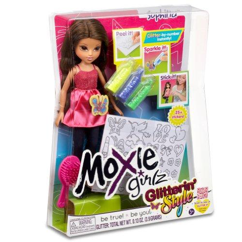 Moxie Girlz Glitterin' Style – Sophina – Poupée 26 cm et Décoration (Import Royaume Uni)
