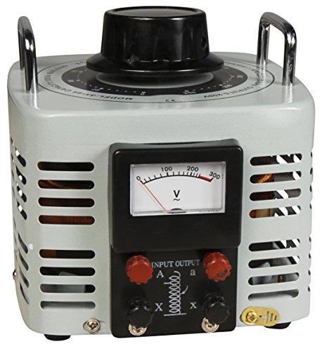 MC POWER - Ringkern-Stelltrafo   V-4000   0-250 V, 4 A, 1.000 W, NICHT galvanisch getrennt