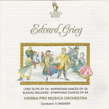 Grieg: Lyric Suite Op. 54,  Norvegian Dances, Op. 35 & Symphonic Dances Op. 64