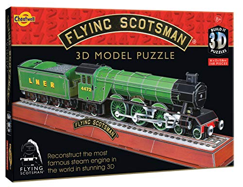 Cheatwell Games Juguete armable 3D Flying Scotsman