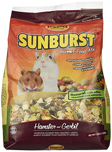 Higgins Gourmet Hamster & Gerbils Food. 2.5 lb. Bag Hamster Food, Gerbil Food.