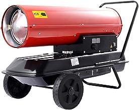 Calentador De Aire Forzado De Queroseno/Diesel De 20/30 KW con Termostato - Calentador De Espacio Portátil Adecuado para Fábricas, Talleres, Garajes, Granjas, Almacenes