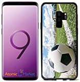 Soccer Ball On Chalk Line for Samsung Galaxy S9 Plus + 2018 Case Cover by Atomic Market