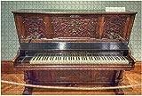 1000 Piezas-Austria Viena 15 04 2017 Piano en el Museo de Instrumentos Musicales Rompecabezas de madera DIY Rompecabezas educativos para niños Regalo de descompresión para adultos Juegos creativos Ju