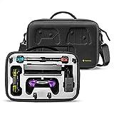 tomtoc Estuche de Transporte para Nintendo Switch, Maletín de Almacenamiento para Mando Pro Controller y 36 Juegos, Caja Protectora Rígida para Accesorios de Nintendo Switch