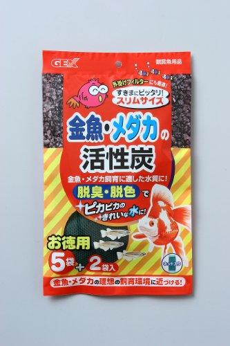 ジェックス 金魚・メダカの活性炭お徳用スリムサイズ