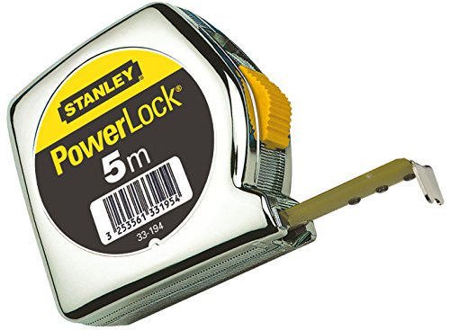 Stanley Bandmass Powerlock Kunststoff 5 m, 1-33-194