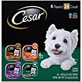 Cesar Soft Wet Dog Food Classic Loaf in Sauce Poultry Variety Pack,...