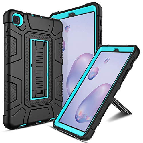 Samsung Galaxy Tab A 8.4 Case, Samsung SM-T307 Case Elegant Choise Built in Kickstand Heavy Duty Shockproof Rugged Full Body Protective Case Cover for Samsung Galaxy Tab A 8.4 2020/SM-T307 (Blue)