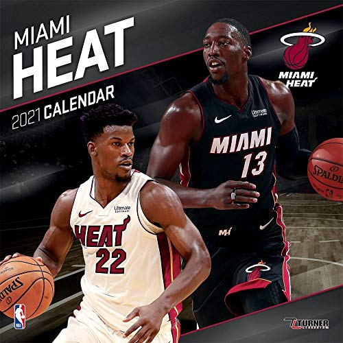 TURNER Sports Miami Heat 2021 12X12 Team Wall Calendar (21998011884)