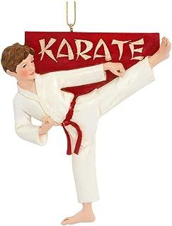 Kurt Adler Karate Boy Christmas Ornament