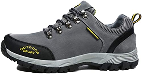 MYXUA Hommes Chaussures De Randonnée Légères Chaussures De Randonnée En Plein Air Alpinisme
