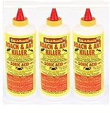 3 Pk, Boric Acid Roach & Ant Killer NET Wt. 1 Lb. (454 gms) Each