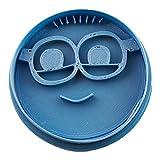 Cuticuter Minion 3stampini per Biscotti, Blu, 8x 7x 1.5cm