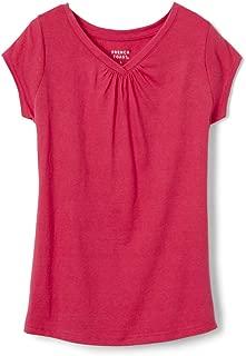 Girls' Short Sleeve V-Neck Tee