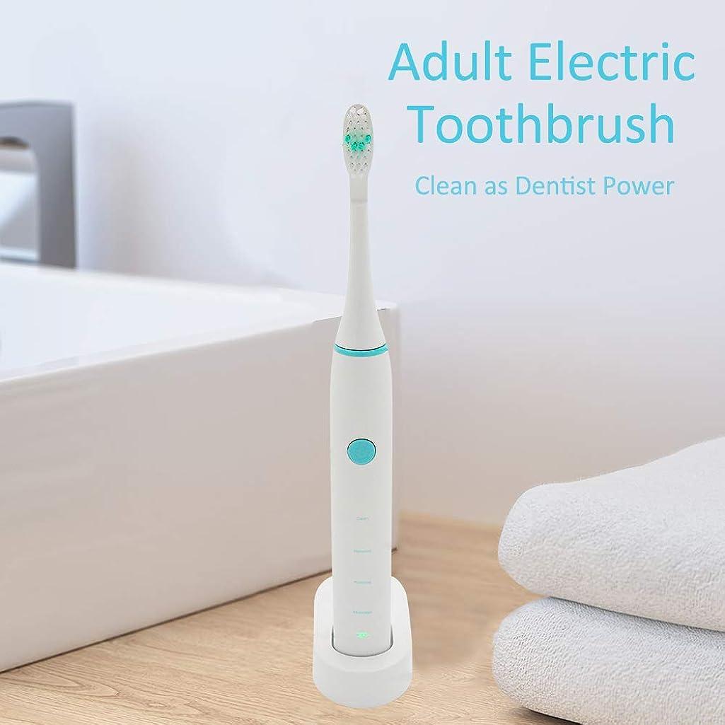 こねるビーム四面体Rakuby 家 旅行使用 2つブラシ 頭部付き 歯科医力 再充電 可能 防水 きれい 大人 電動歯ブラシ