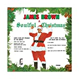 James Brown's Album Cover – A Soulful Christmas Leinwand