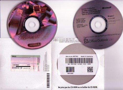 Microsoft Office 2007 PME : Word - Excel - Outlook - PowerPoint - Publisher - Gestionnaire de contacts professionnels (2 CD-ROM) Installation avec ou sans CD. Support inclus entre 3 et 6 mois - compatible Office 2010, ainsi que Windows XP, 2003, VISTA, 2008, 7