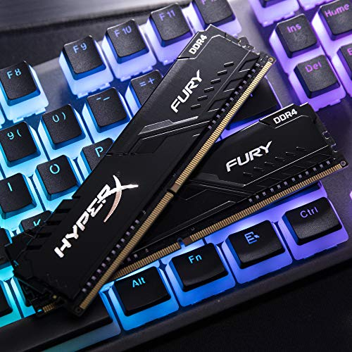 HyperX FURY Black HX430C16FB3K2/64 Arbeitsspeicher 64GB Kit*(2x32GB) 3000MHz DDR4 CL16 DIMM