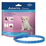 ADAPTIL Junior Adjustable Collar for puppies, proven to help reduce night crying, being left home alone, training and socialisation- Puppy