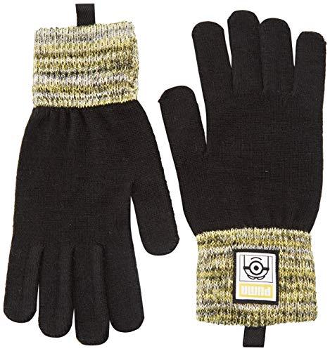 PUMA Kinder Minions Gloves Handschuhe, Black, XS