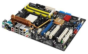Asus M2N-SLI Deluxe Green nVIDIA Socket Am2 ATX Motherboard