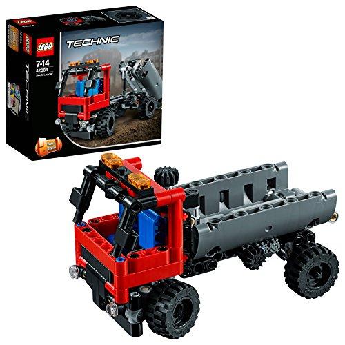 LEGO Technic 42084 - Absetzkipper, Set für geübte Baumeister