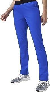 Jaanuu Women's Scrubs Pants 3 Pocket W/Logo & Stretch Fabric | Regular Inseam | Women's Fashion Workwear Medical Uniform