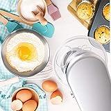 Duronic SM104 Elektrisch Küchenmaschine | Knetmaschine 1000W | 4 L Rührschüssel mit Spritzschutz | 6 Geschwindigkeiten und Pulsfunktion - 7