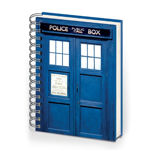 Doctor WhoA5 Notizbuch Tardis