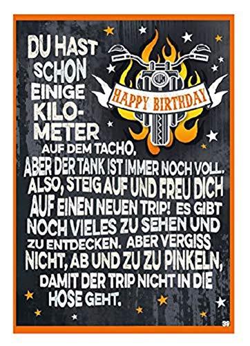 Depesche 4702.039 - Glückwunschkarte mit überraschendem Effekt beim Öffnen, Geburtstag