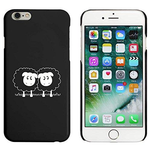 Azeeda Schwarz 'Paar Schaf' Hülle für iPhone 6 u. 6s (MC00033209)