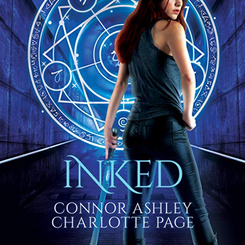 Inked audiobook cover art