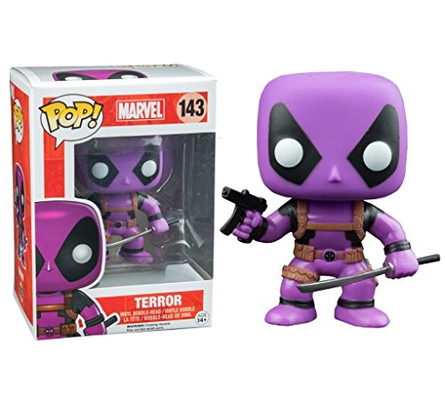 Funko POP! Marvel Deadpool Rainbow Squad: Terror Purple