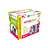 Opthopatch Kids Eye Patches - Fun Girls Design [Series II] - 30 + 10 Bonus Latex Free Hypoallergenic Cotton Adhesive Bandages for Amblyopia and Cross Eye - 3 Reward Chart Posters by Defined Vision