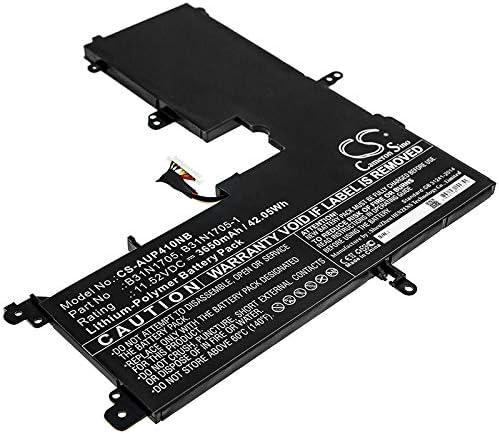 3650mAh Max 68% OFF Battery Replacement for Sacramento Mall as 14 TP410UA-EC32 VivoBook Flip