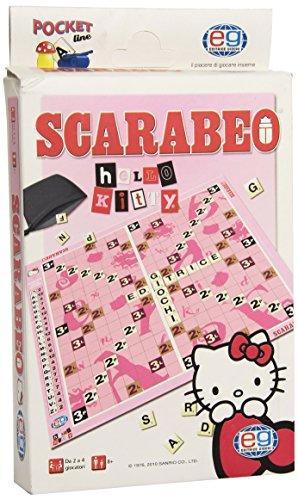 GIOCO SOCIETA Pocket Editrice Giochi-Scarabeo Hello Kiitty