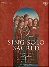 Sing Solo Sacred: 40 Favorite Songs for Arias and High Voice (Sheet Music)