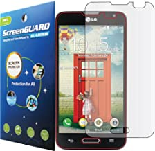 GuarmorShield Premium Clear LCD Screen Protector Guard Shield Cover Film Kit for LG Optimus L70 D325 MS323 . (GUARMOR Brand)